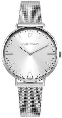Karen Millen Contemporary Mesh Strap Watch