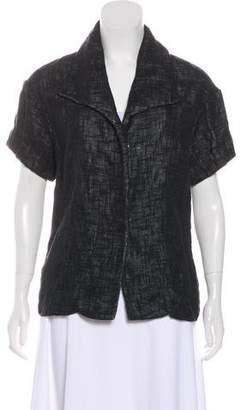 Lela Rose Short Sleeve Lightweight Jacket