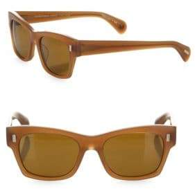 Alexandre Birman 71st Street 51MM Square Cat Eye Sunglasses