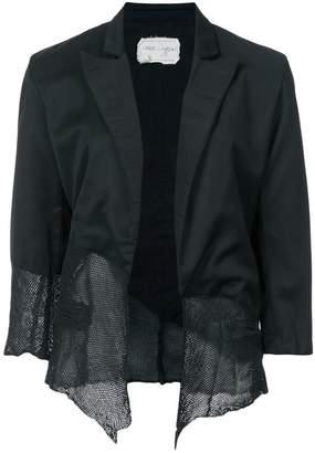 Greg Lauren asymmetric blazer