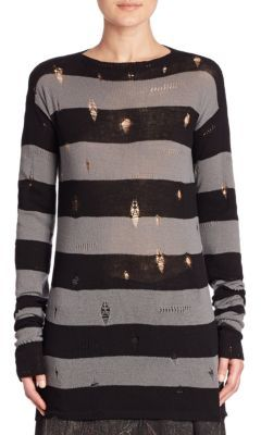 Marc Jacobs Marc Jacobs Deconstructed Wool & Cashmere Sweater