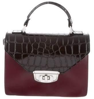 Ganni Leather Satchel