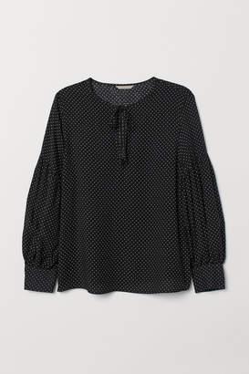 H&M H&M+ Patterned blouse