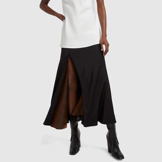 Ellery Suite One Bias High-Slit Skirt