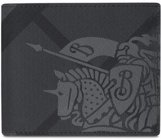 Burberry check bi-fold wallet