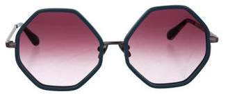 Morgenthal Frederics Rosie Assoulin x On the Broadwalk Sunglasses