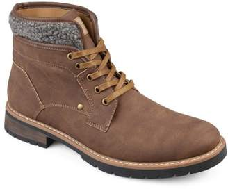 Territory Men's Lace-Up Faux Leather Casual Boots