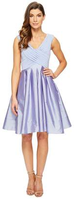 Adrianna Papell Taffeta Fit and Flare Women's Dress