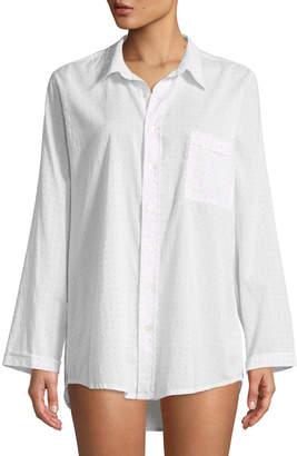 Pour Les Femmes Dots Boyfriend Sleepshirt