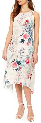Wallis Wonderland Hanky Hem Floral Dress