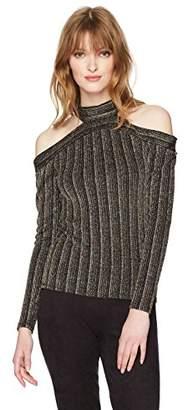 BCBGMAXAZRIA Women's Pailey Knit Long Sleeve Top