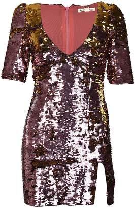 For Love & Lemons Sequin Embellished Dress