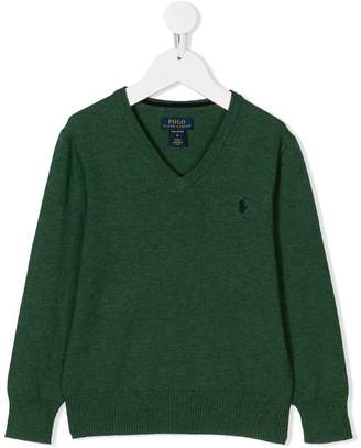 Ralph Lauren Kids V-neck sweater
