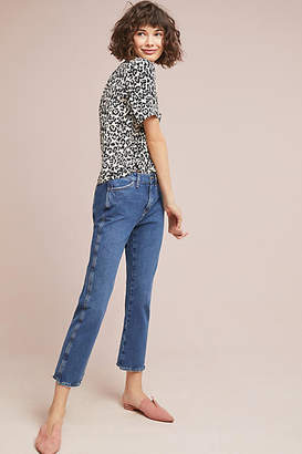 Lily & Lionel Leopard Silk Buttondown