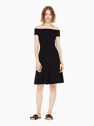 Kate Spade Off the shoulder sweater dress