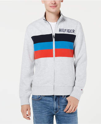 Tommy Hilfiger Men Gallen Stripe Logo Sweatshirt