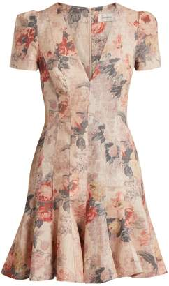 Zimmermann Radiate Flip floral dress