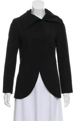Ter Et Bantine Wool Casual Jacket Black Wool Casual Jacket