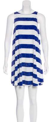 Wildfox Couture Distressed Striped Dress w/ Tags