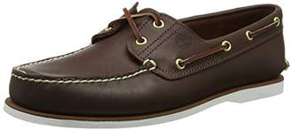 Timberland Men's Classic 2-Eye Boat Shoe Rubber Boat shoe