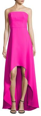 Laundry by Shelli Segal Strapless High-Low Gown $345 thestylecure.com