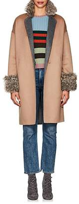 Xo Barneys Colombo Women's Double-Faced Cashmere Coat