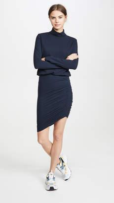 Sundry Turtleneck Blouson Dress