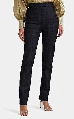 Martin Grant Women's High-Waist Skinny Jeans - Navy