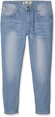 boohoo Petite Women's Sarah Mid Rise Mom Jeans,(Manufacturer Size:10)