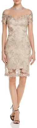 Tadashi Shoji Illusion Lace Dress - 100% Exclusive