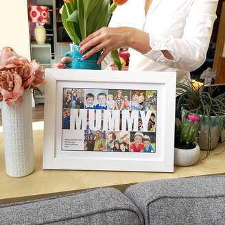 Hello Ruth Personalised Mummy Photo Collage Print