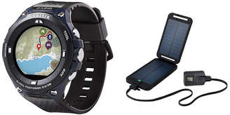 Casio Pro Trek Unisex Black Smart Watch-Wsd-F20a-Bupt