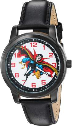 Marvel Men's 'Dr.Strange' Quartz Metal Automatic Watch, Color: (Model: W002862)