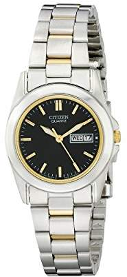 Citizen Women's EQ0564-59E Analog Display Japanese Quartz Two Tone Watch