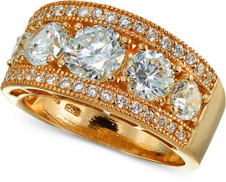 Giani Bernini Cubic Zirconia Ring in 18k Rose Gold-Plated Sterling Silver, Created for Macy's