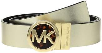 MICHAEL Michael Kors Smooth Leather Reversible Belt Women's Belts