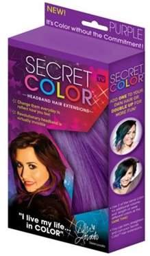 JML Secret Colour Colourful Easy To Insert Hair Extensions (Purple)