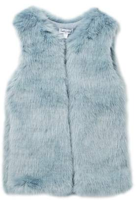 Splendid Faux Fur Vest (Toddler Girls)
