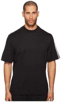 Yohji Yamamoto 3-Stripes Short Sleeve Tee Men's T Shirt