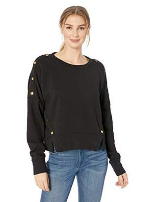Hudson Jeans Women's SNAP Pullover