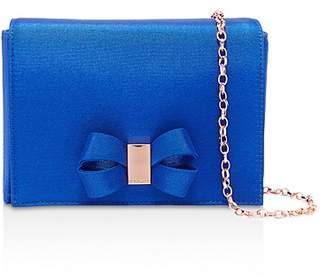 Ted Baker Stacyy Looped Bow Satin Clutch