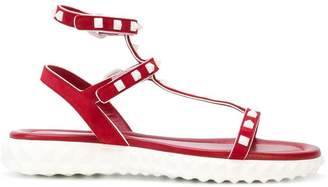 Valentino flat Rockstud sandals