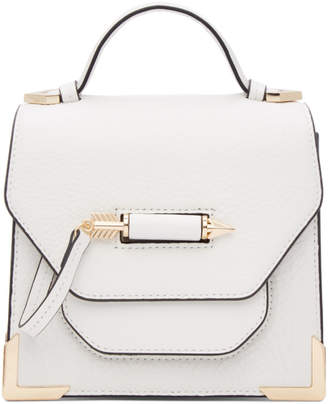 Mackage White Rubie Crossbody Mini Bag