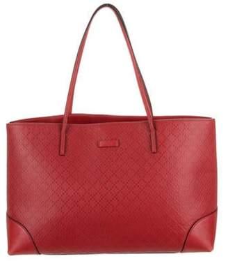 Gucci Bright Diamante Leather Tote Bag Red Bright Diamante Leather Tote Bag