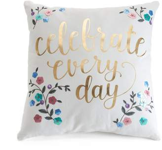 Lauren Conrad Celebrate Throw Pillow