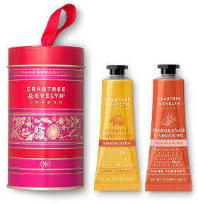 Pomegranate and Citron Tin 2x25g Hand Therapy