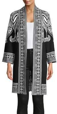Context Paisley-Print Topper Jacket