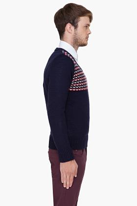 Diesel Navy K Serry Sweater
