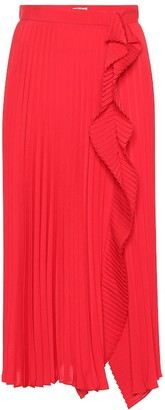 Miu Miu Pleated midi skirt