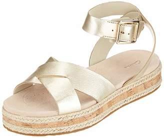 71f7f0d24 Clarks Women s Botanic Poppy Ankle Strap Sandals
